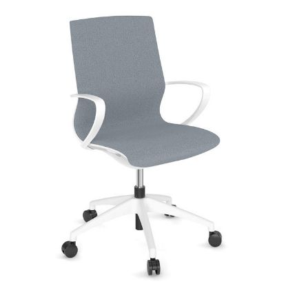 Picture of All Mesh Task Chair with Black or White Frame (White)