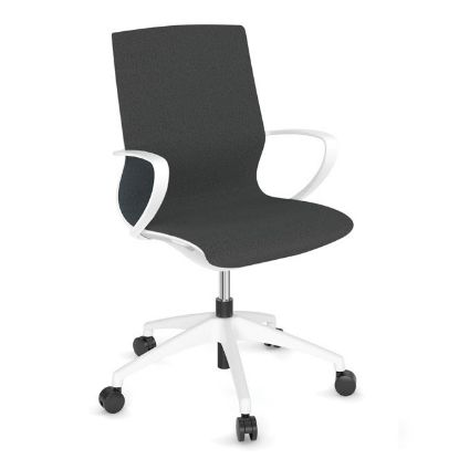 Picture of All Mesh Task Chair with Black or White Frame (Gray)