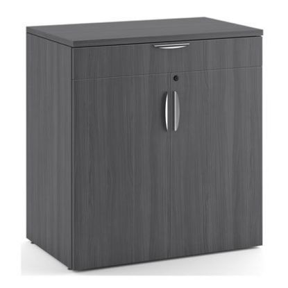 Picture of Buffet Credenza with Top Drawer and Doors (Gray)