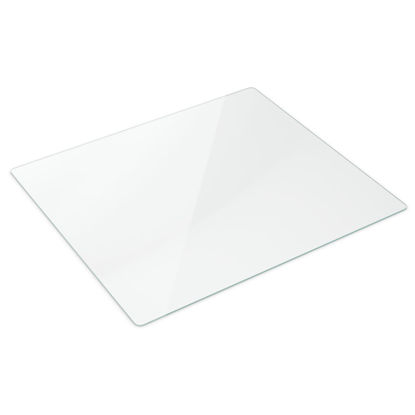 """Picture of 44"""" x 50"""" Glass Chair Mat"""