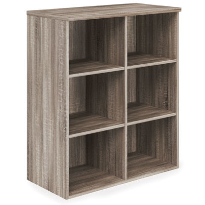 Picture of Bookcase with Divided Shelves