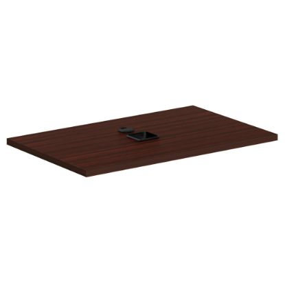"""Picture of 36"""" File Top ( For PL2013) (Mahogany)"""