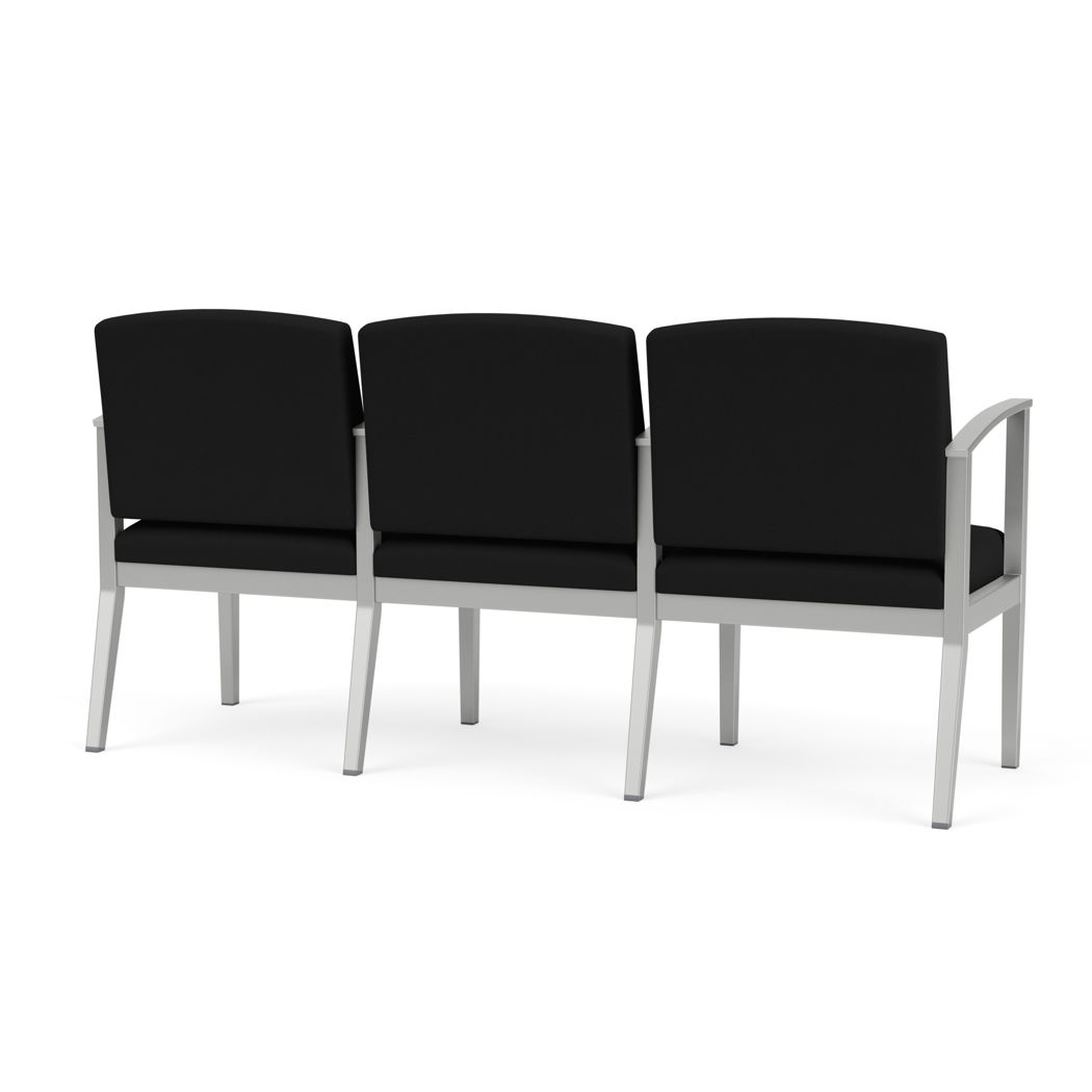 Picture of Amherst Steel 3 Seater with Center Arms