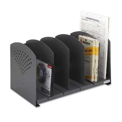 Picture of Safco® Five-Section Adjustable Steel Book Rack