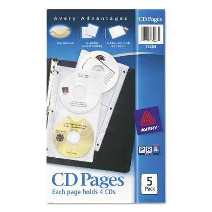 Picture of Avery® CD Organizer Sheets for Three-Ring Binders