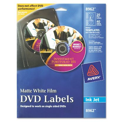 Picture of Avery® Inkjet DVD Labels