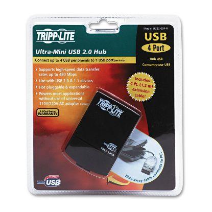 Picture of Tripp Lite 4-Port USB 2.0 Ultra-Mini Hub