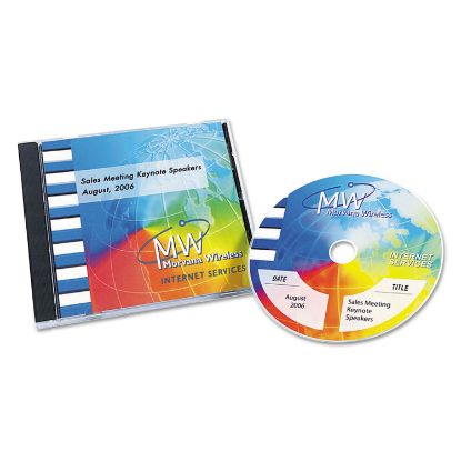 Picture of Avery® Inkjet Full Face CD Labels