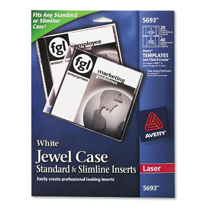 Picture of Avery® Jewel Case Inserts