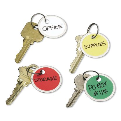 Picture of Avery® Key Tags with Split Ring