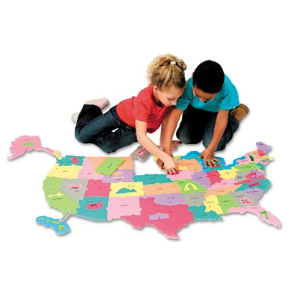 Picture of Creativity Street® WonderFoam® Giant U.S.A. Puzzle Map
