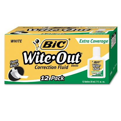 Picture of BIC® Wite-Out® Brand Extra Coverage Correction Fluid