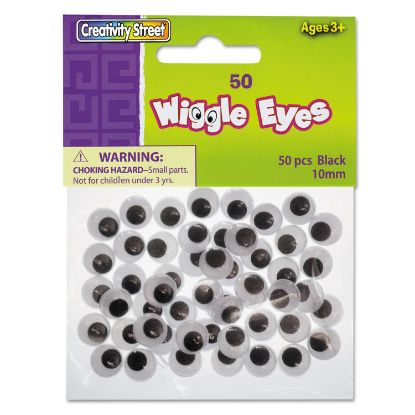 Picture of Creativity Street® Round Black Wiggle Eyes
