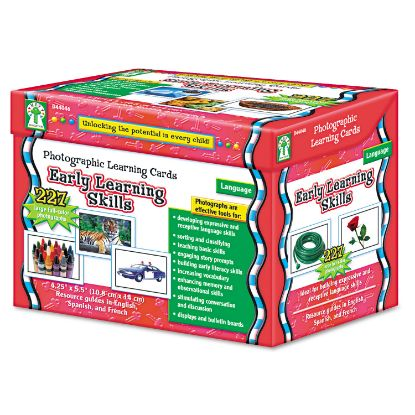 Picture of Carson-Dellosa Education Photographic Learning Cards