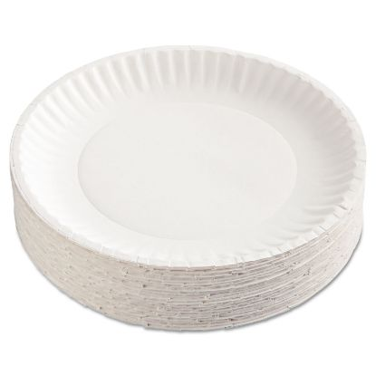 Picture of AJM Packaging Corporation Gold Label Coated Paper Plates