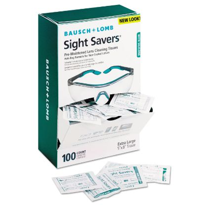 Picture of Bausch & Lomb Sight Savers Pre-Moistened Anti-Fog Tissues with Silicone
