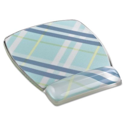 Picture of 3M™ Fun Design Clear Gel Mouse Pad Wrist Rest