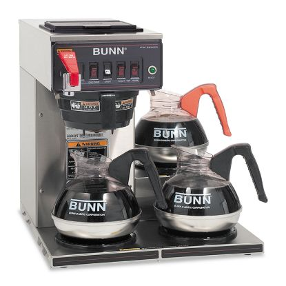 Picture of BUNN® CWTF-3 Three Burner Automatic Coffee Brewer