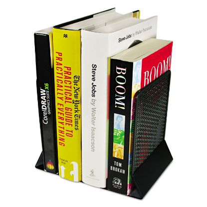 Picture of Artistic® Urban Collection Punched Metal Bookends