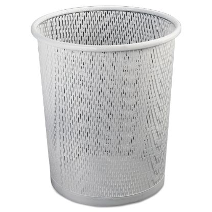 Picture of Artistic® Urban Collection Punched Metal Wastebin
