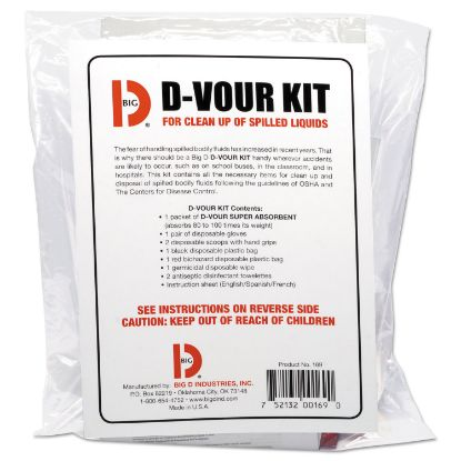 Picture of Big D Industries D'vour Clean-up Kit