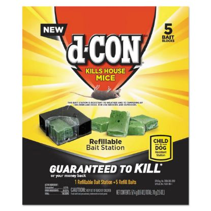 Picture of d-CON® Refillable Bait Station & Refills