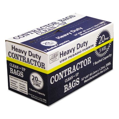 Picture of AEP® Industries Inc. Heavy-Duty Contractor Clean-Up Bags