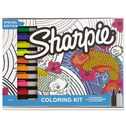 Picture of Sharpie® Adult Coloring Kit