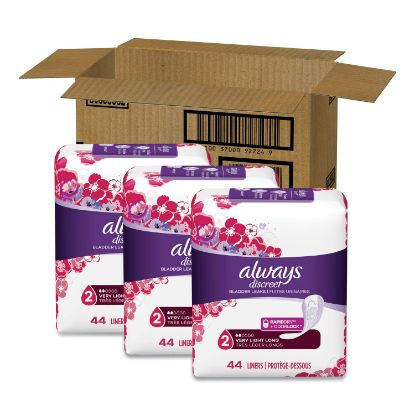 Picture of Always® Discreet Incontinence Liners