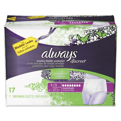Picture of Always® Discreet Incontinence Underwear