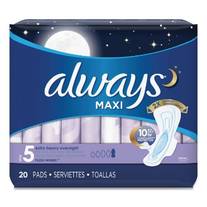 Picture of Always® Overnight Maxi Pads