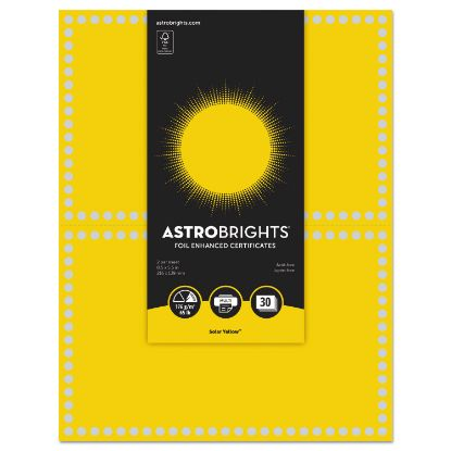 Picture of Astrobrights® Foil Enhanced Certificates