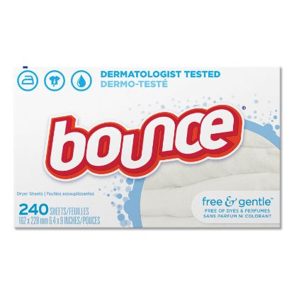 Picture of Bounce® Free & Gentle™ Fabric Softener Dryer Sheets