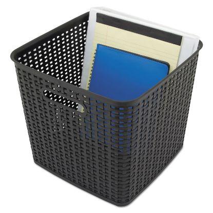 Picture of Advantus Plastic Weave Bin