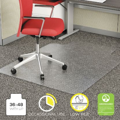 Picture of Alera® Studded Chair Mat for Flat Pile Carpet