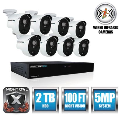 Picture of Night Owl 8 Channel 5 MP Extreme HD Video Security DVR