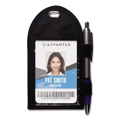 Picture of Advantus Badge Holder with Pen Loop