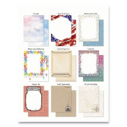 Picture of Astrodesigns® Pre-Printed Paper