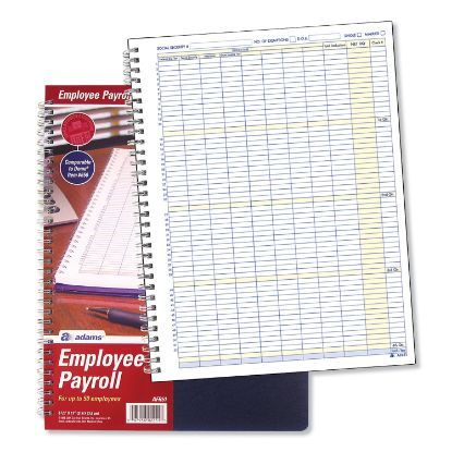 Picture of Adams® Employee Payroll Record Book