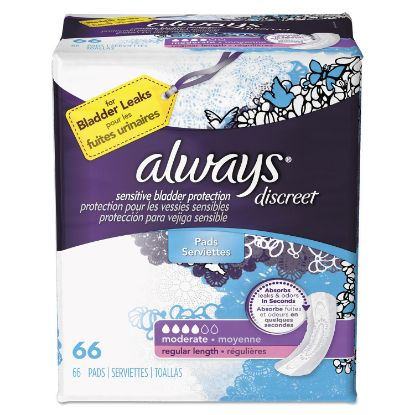 Picture of Always® Discreet Incontinence Pads