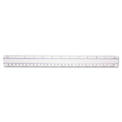 """Picture of 12"""" Magnifying Ruler, Plastic, Clear"""