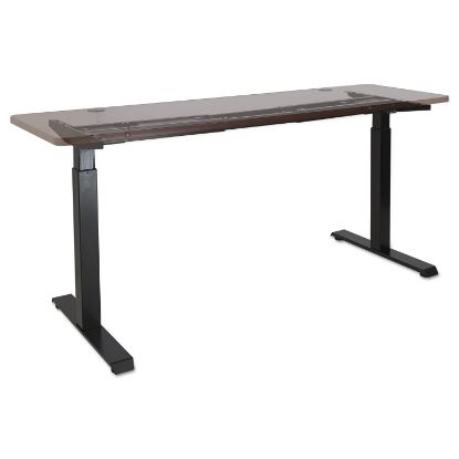 """Picture of 2-Stage Electric Adjustable Table Base, 27.5"""" to 47.2"""" High, Black"""