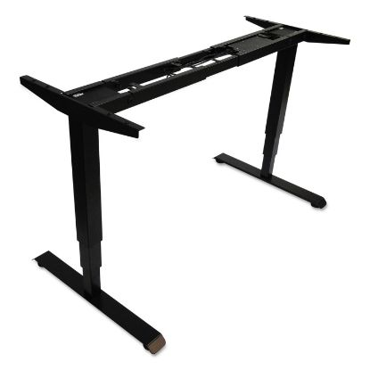 """Picture of AdaptivErgo 3-Stage Electric Table Base w/Memory Controls, 25"""" to 50.7"""", Black"""