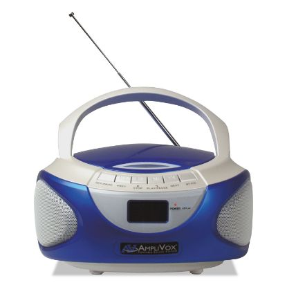 Picture of CD Boombox with Bluetooth, Blue