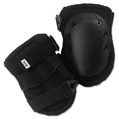 Picture of AltaLok Knee Pads, Fastener Closure, Neoprene/Nylon, Rubber, Black