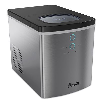 Picture of Portable/Countertop Ice Maker, 25 lb, Stainless Steel