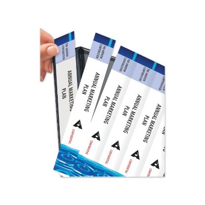 """Picture of Binder Spine Inserts, 1.5"""" Spine Width, 5 Inserts/Sheet, 5 Sheets/Pack"""