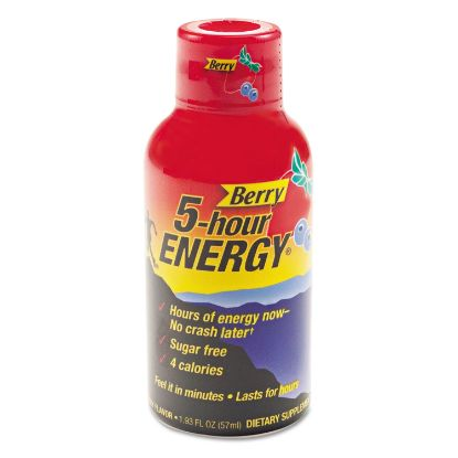 Picture of Energy Drink, Berry, 1.93oz Bottle, 12/Pack