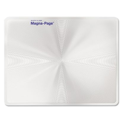 """Picture of 2X Magna-Page Full-Page Magnifier w/Molded Fresnel Lens, 8 1/4"""" x 10 3/4"""""""