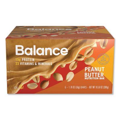Picture of 40-30-30 Nutrition Bar, Peanut Butter, 1.76 oz, 6/Box